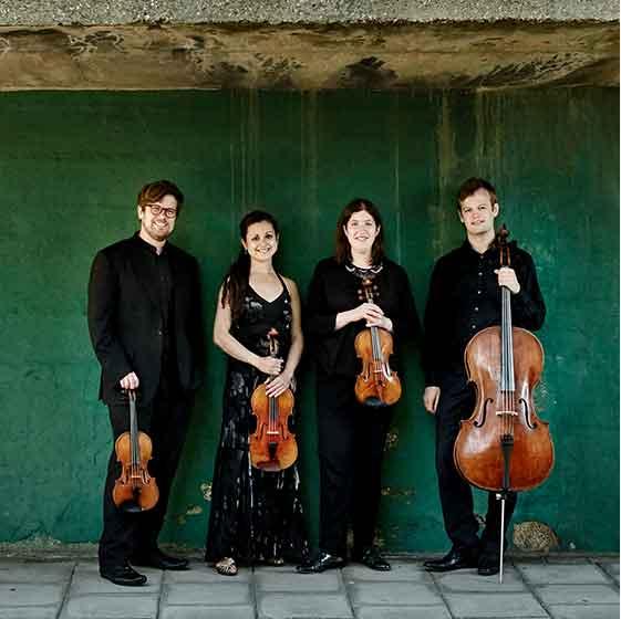Biographies - Castalian String Quartet