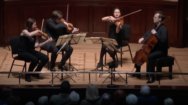 Haydn String Quartet in D Op.76 No.2, Live at Wigmore Hall
