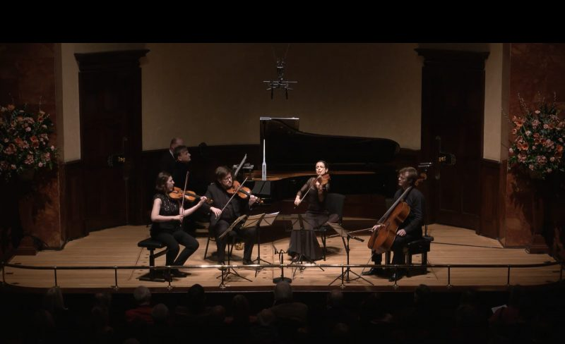Piano Quintets by Brahms and Carl Frühling with Stephen Hough – livestream from the Wigmore Hall